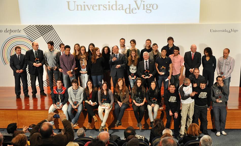 Gala do deporte, Universidade de Vigo