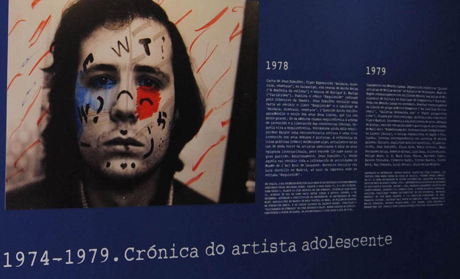 Antón Patiño 1974-1979. Crónica do artista adolescente